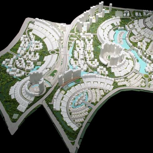13 chongqing bamboo grove masterplan-site model 01 (6x8)