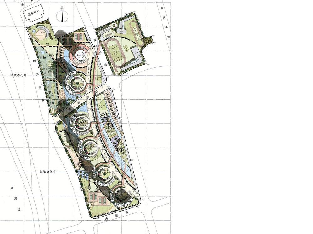 Orchid Garden Residential Development Shanghai masterplan