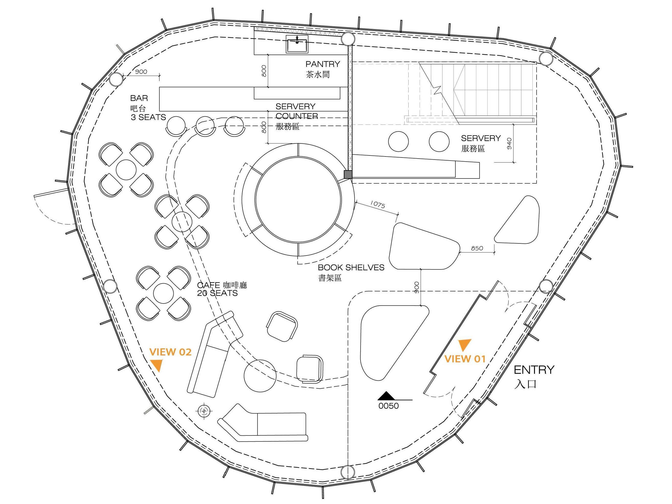 bubble-restaurant_interior-design-Plan