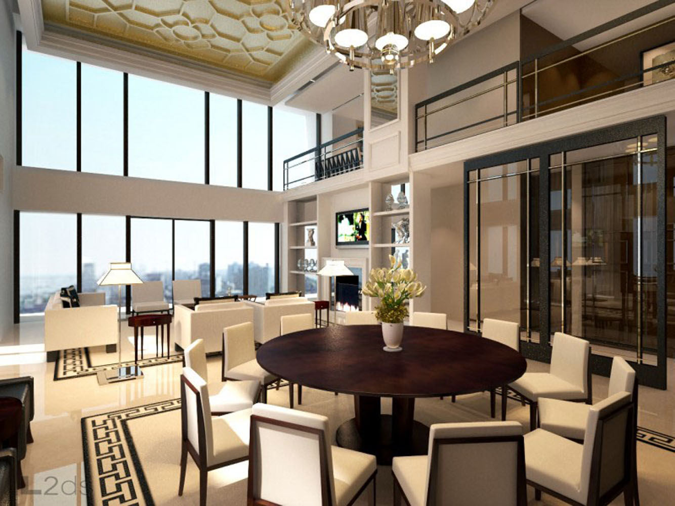 Park-Avenue-luxury-apartments_04-living-room