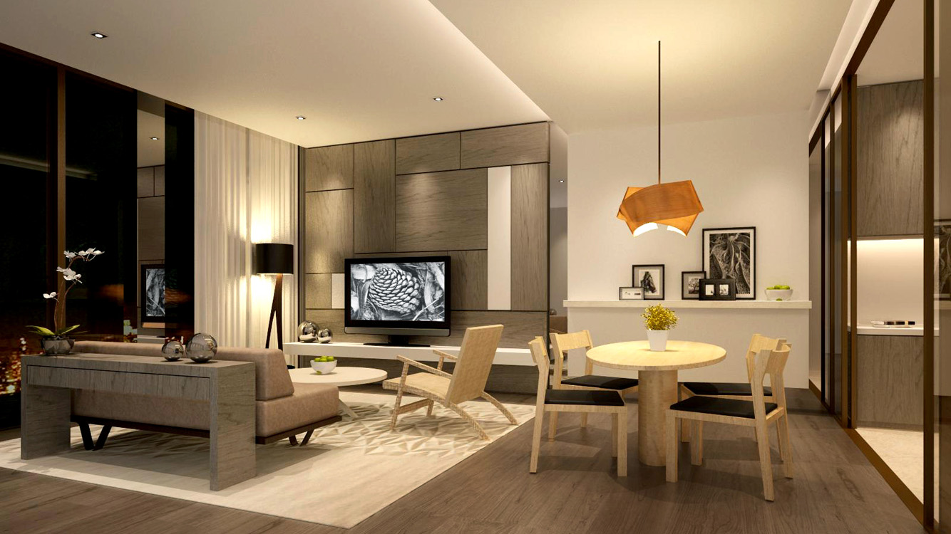 1 Bedroom Unit Interior Design